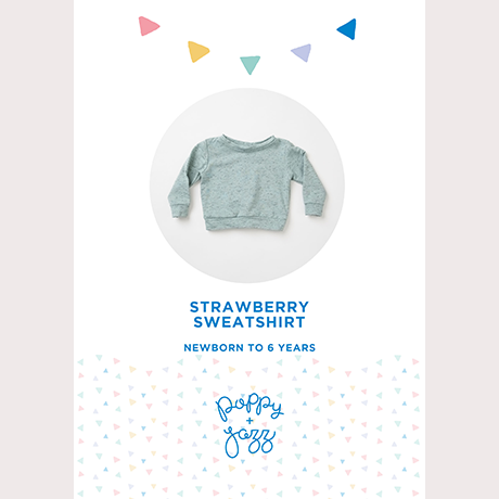 Poppy & Jazz Strawberry Sweatshirt