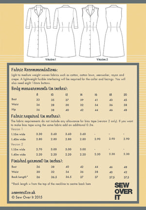 Sew Over It Vintage Shirt Dress