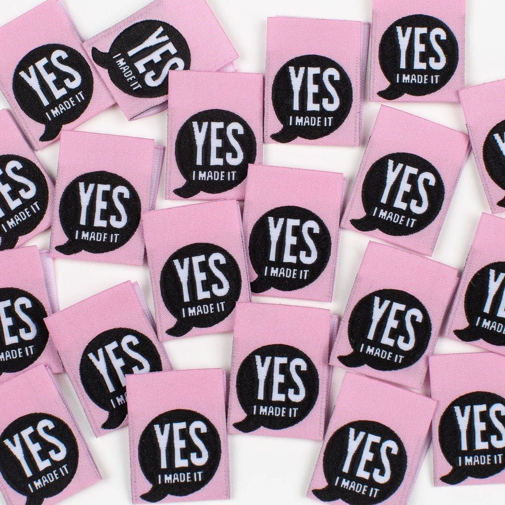 Kylie & The Machine - Yes I Made It - Woven Labels 8 Pack