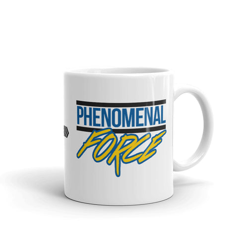 Phenomenal Force (Black/Blue/Yellow) Mug