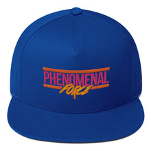 Load image into Gallery viewer, Phenomenal Force (Orange/Pink/Yellow) Embroidered Flat Bill Cap