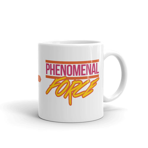 Phenomenal Force (Orange/Pink/Yellow) Mug
