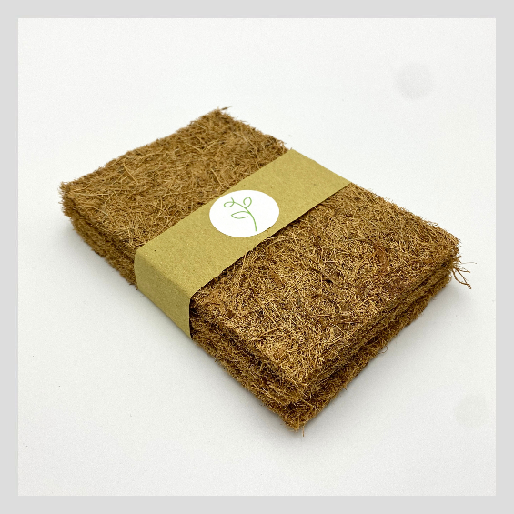 UrbanSproutz Coco Beds - the best medium to grow Microgreens on. Made of sustainably farmed coconut coir. Also known as coco coir mats. Fully compostable, making it clean, easy and sustainable for you to grow Microgreens on!