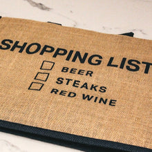 Load image into Gallery viewer, Market Shopper - Shopping List B for BEER