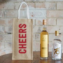 Load image into Gallery viewer, Two Bottle Bag - Cheers Big Ears  (2 pcs/set)