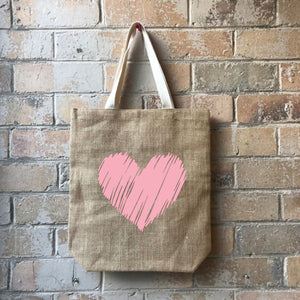 Casual Shopper - Scribbly Heart
