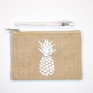 Handy Zip Pouch - Pineapple Head