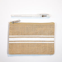 Load image into Gallery viewer, Handy Zip Pouch - Striped for Success