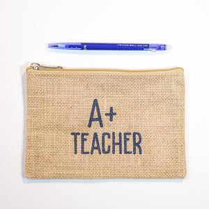 Handy Zip Pouch - Teacher's Pet