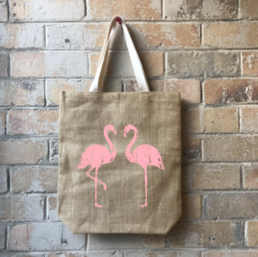 Junior Casual Shopper - Flamingo Flair