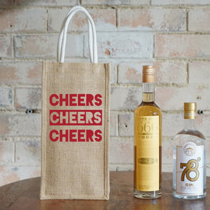 Two Bottle Bag - 3 Cheers