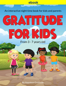 The Gratitude For Kids Ebook