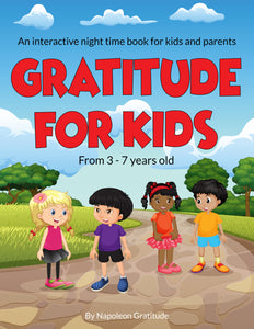 Pre-Order a copy of the 28-day interactive gratitude children's book