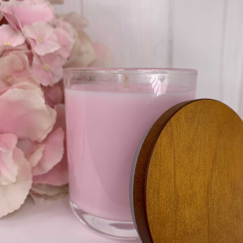 Pretty Pink -  Coconut Soy Wax All Natural Candle - Featured Collection