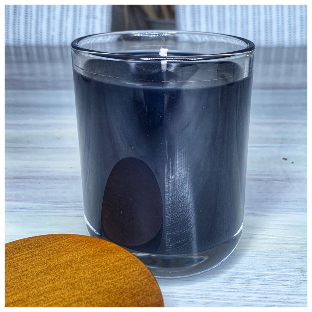 Very Black Coloured Wax All Natural Candle