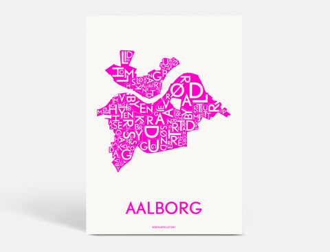 AALBORG - NEON PINK - A5