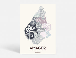 AMAGER - SPECIAL EDITION - 50x70 CM