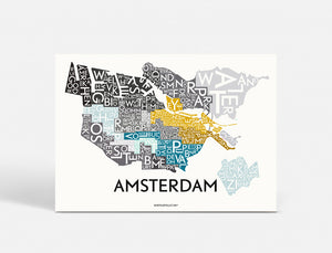 AMSTERDAM - SPECIAL EDITION - 70x50 CM