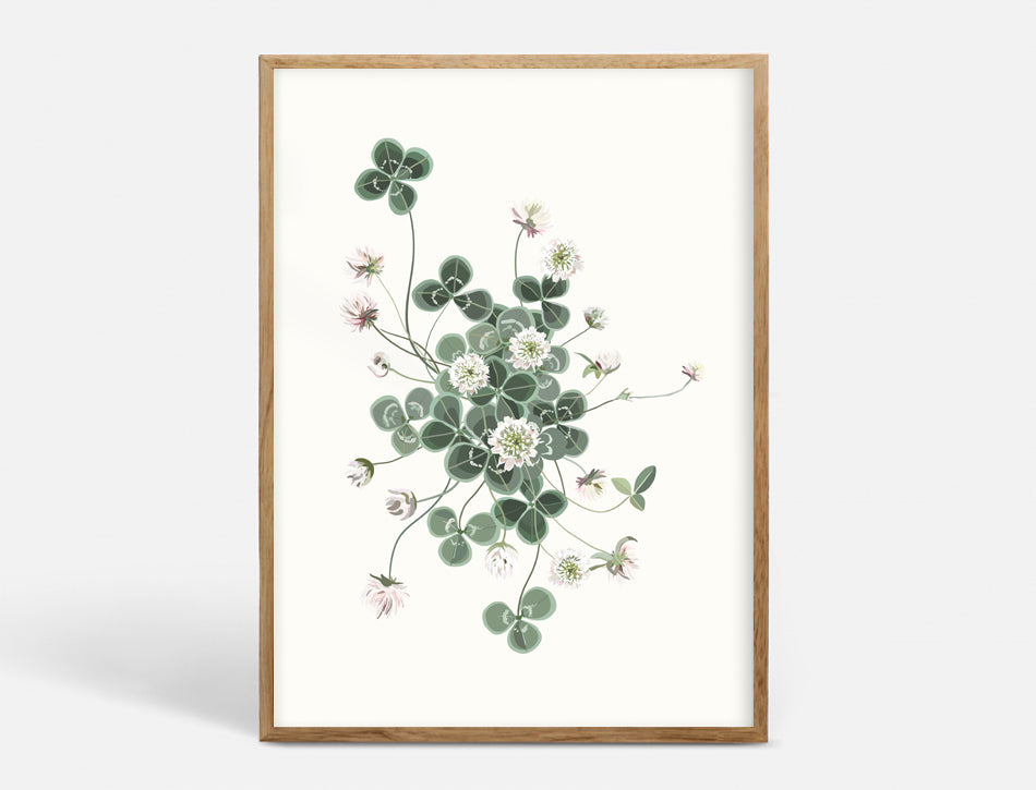 Plakat LUCKY CLOVER - 2 SIZES