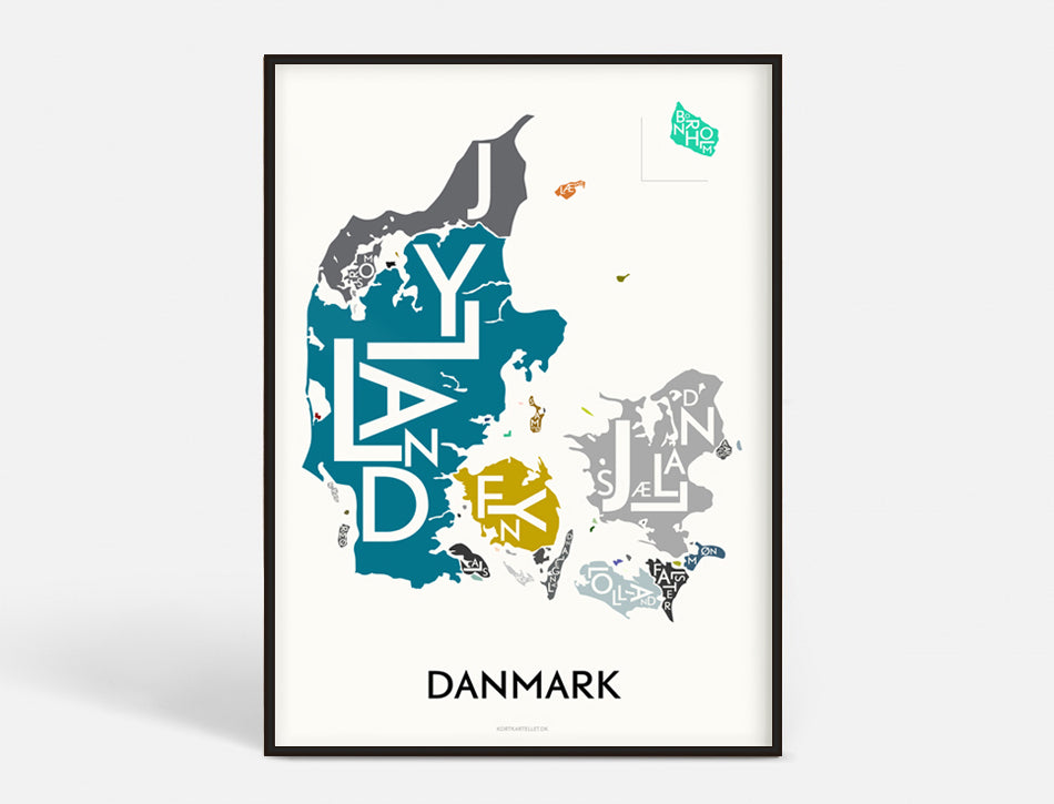 DANMARK - SPECIAL EDITION - 70x100 CM
