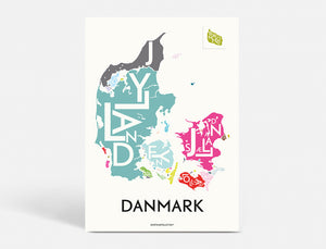 DANMARK - SPECIAL EDITION - 50x70 CM