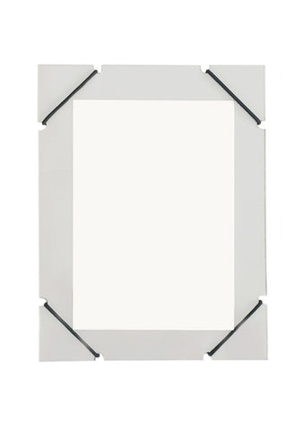 A5 ELASTIC LIGHT GREY FRAME
