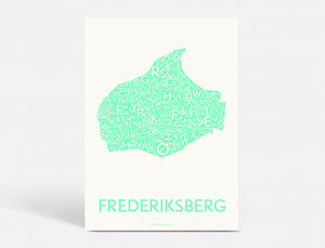 FREDERIKSBERG - STRONG MINT - 70x100 CM