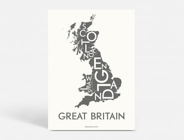 Plakat 50x70 CM - GREAT BRITAIN - KOKS