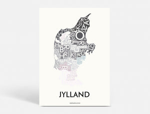 JYLLAND - SPECIAL EDITION - 50x70 CM
