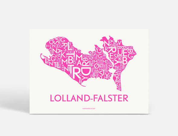 A5 - LOLLAND-FALSTER  - NEON PINK