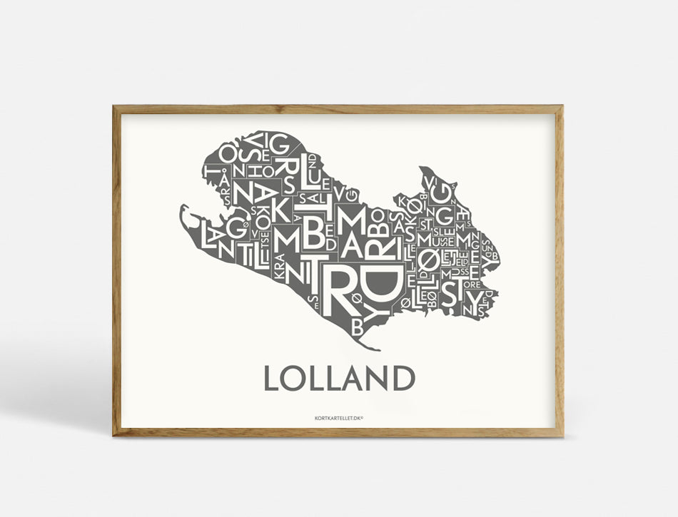 LOLLAND - DARK GREY - 40x55 CM