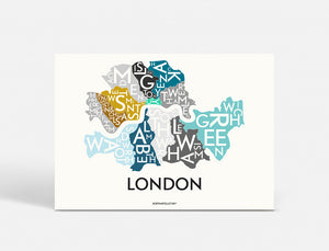 LONDON - SPECIAL EDITION - 70x50 CM