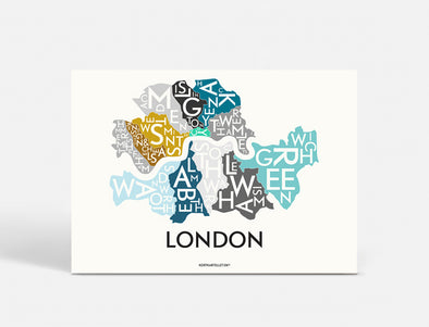 Plakat 70x50 CM - LONDON - SPECIAL EDITION