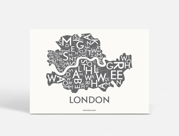 Plakat 70x50 CM - LONDON - KOKS