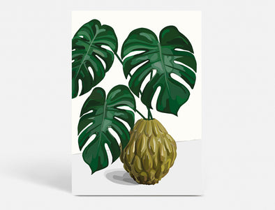 Plakat A3 - MONSTERA