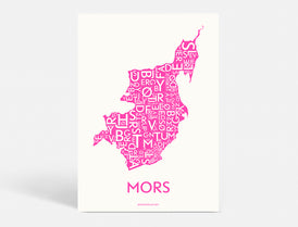 MORS - NEON PINK - A5