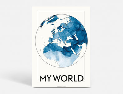 A5 - MY WORLD - BLÅ
