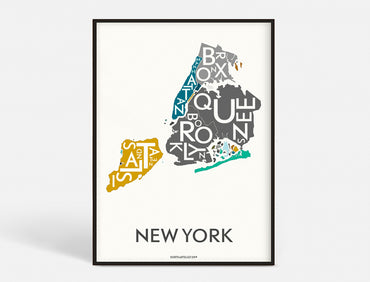 Plakat 50x70 CM - NEW YORK (CITY) - SPECIAL EDITION