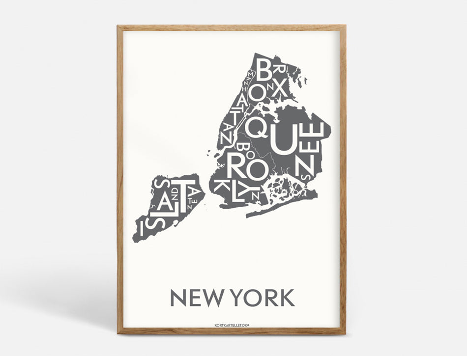 Plakat 40x55 CM - NEW YORK (CITY) - KOKS