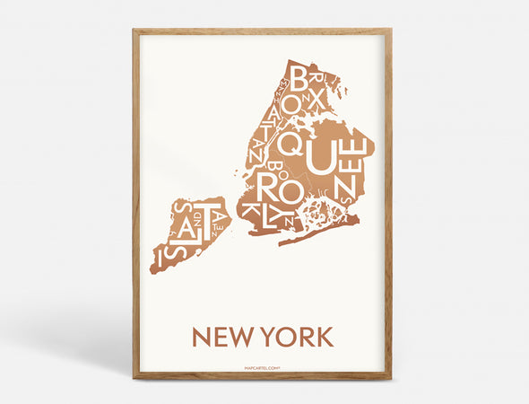 Plakat 40x55 CM - NEW YORK (CITY)