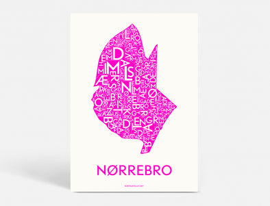 A5 - NØRREBRO - NEON PINK