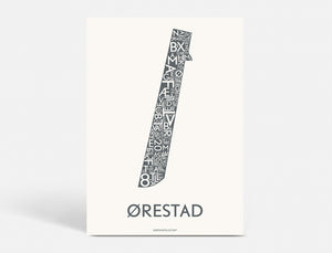 ØRESTAD - DARK GREY - A5