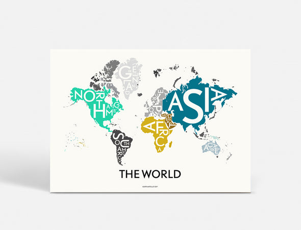 Plakat 100x70 CM - THE WORLD - SPECIAL EDITION