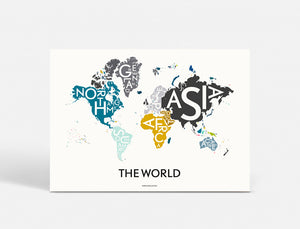 THE WORLD - SPECIAL EDITION - 70x100 CM