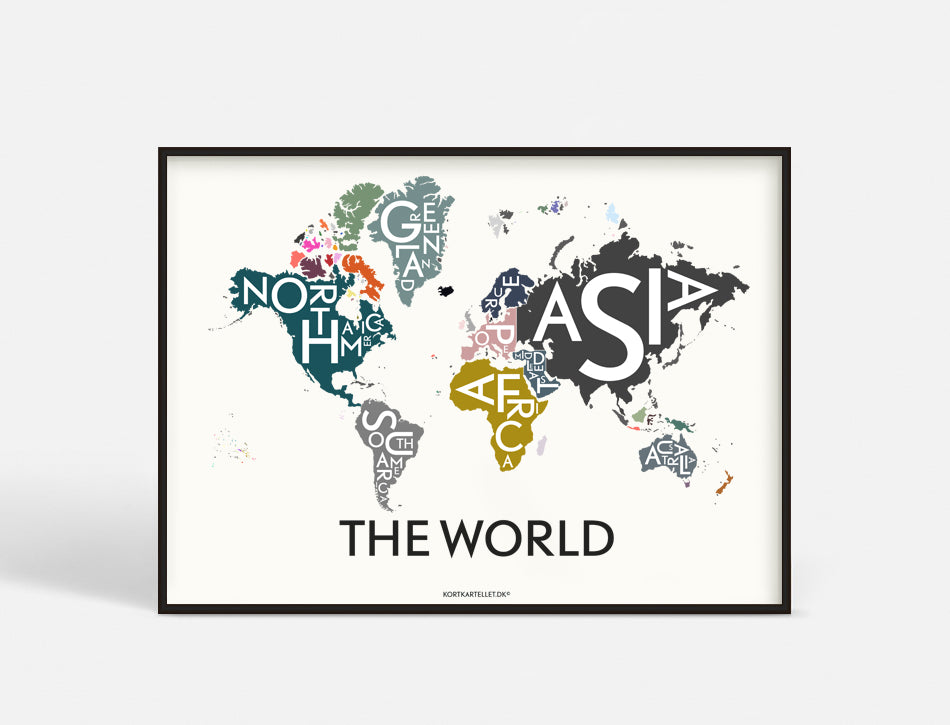 THE WORLD - SPECIAL EDITION - 70x50 CM