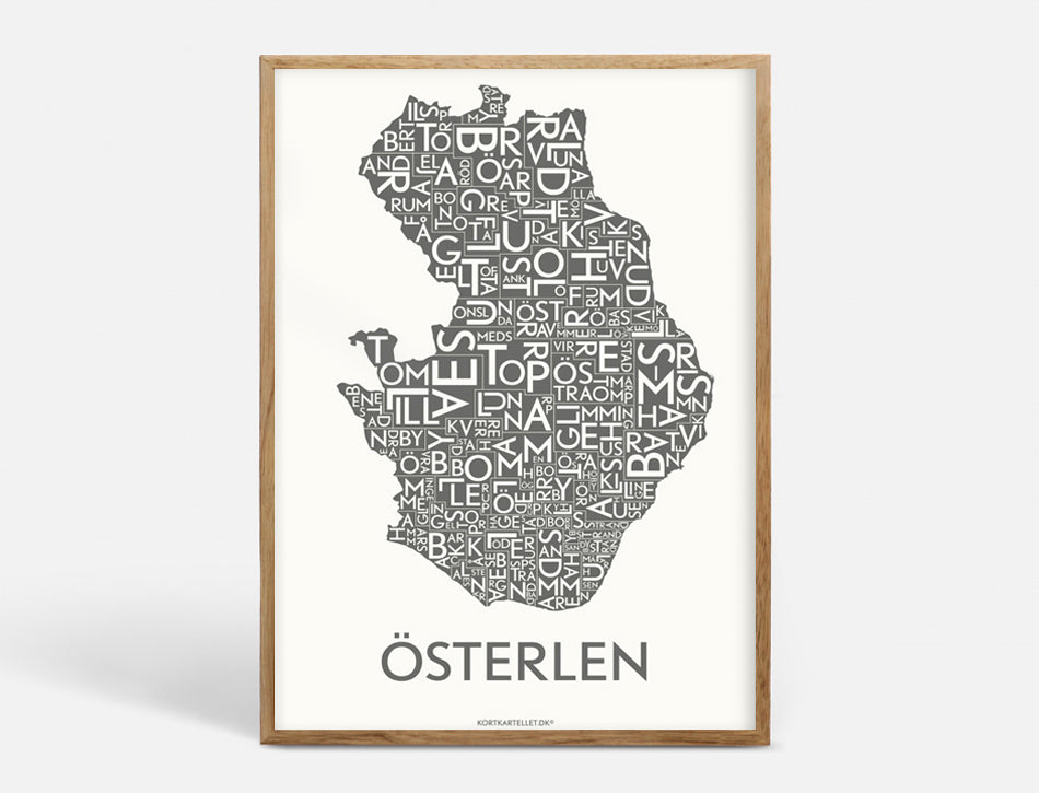 ÖSTERLEN - DARK GREY - 50x70 CM