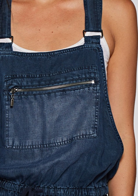 Sasha Drawstring Relaxed Overalls - romp Collection