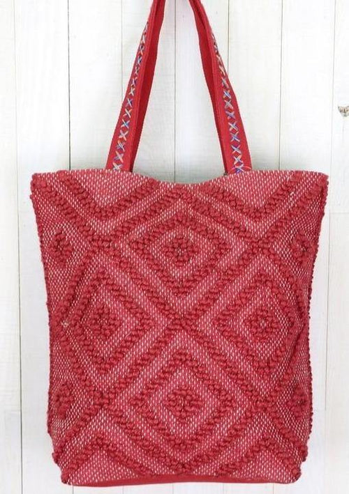 Alessandra Hand Loomed Tote - romp Collection