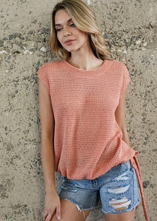 Summer Nights Knit Top - romp Collection