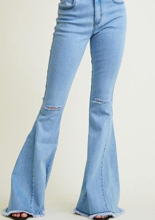 Abby Road Wide Leg Jeans - romp Collection